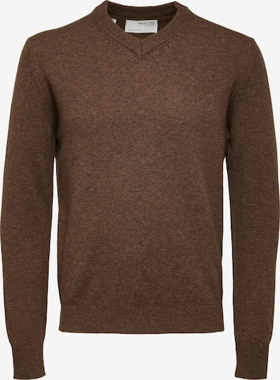 SELECTED HOMME Sweater 'King' in Chocolate, Item view