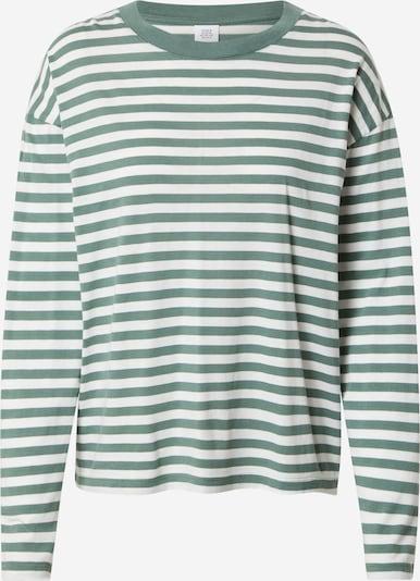 Kauf Dich Glücklich Shirt in grün / weiß, Produktansicht