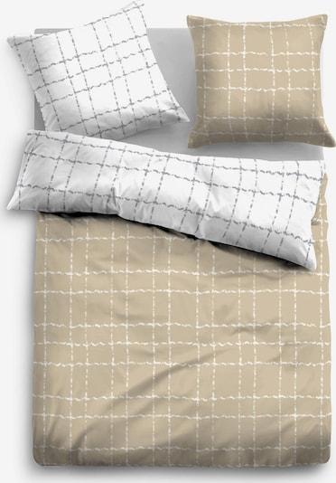 TOM TAILOR Bettwäsche in beige, Produktansicht