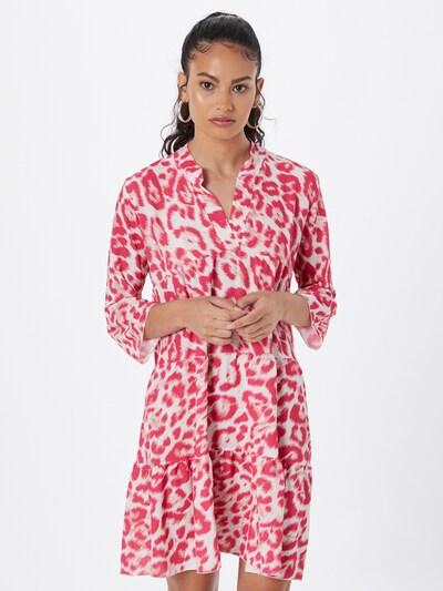 Hailys Kleid 'Lola' in pink / weiß, Modelansicht