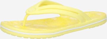 geltona Crocs Sandalai / maudymosi batai