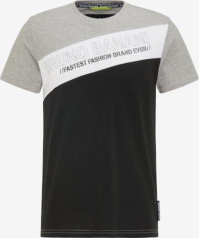 BRUNO BANANI T-Shirt en gris / noir, Vue avec produit