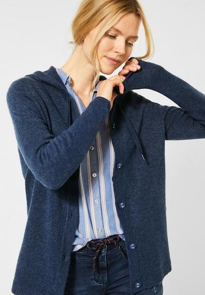 CECIL Cardigan in blau, Modelansicht