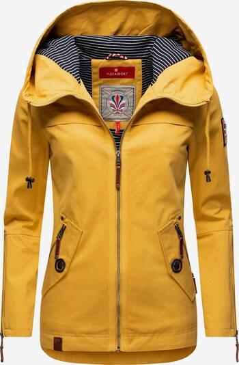 NAVAHOO Jacke 'Wekoo' in gelb / grau, Produktansicht