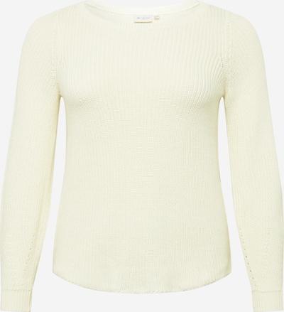 ONLY Carmakoma Pulover | bela barva, Prikaz izdelka