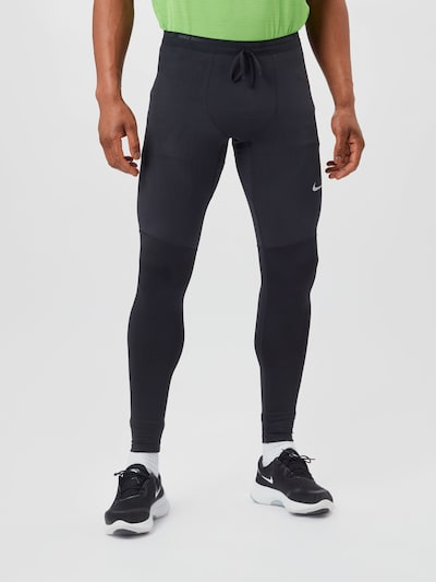 NIKE Sports trousers in black, View model