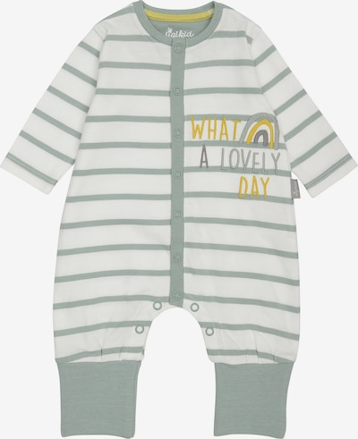 SIGIKID Schlafanzug in gelb / pastellgrün / weiß, Produktansicht