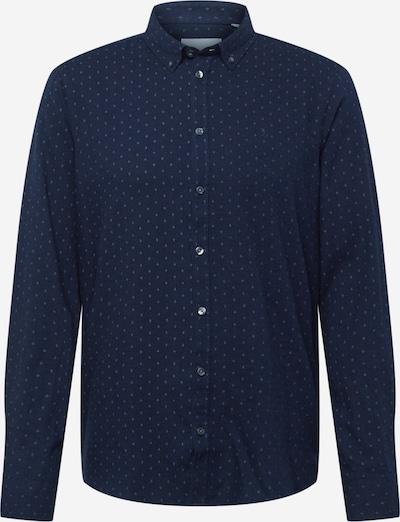 Casual Friday Chemise 'Anton' en bleu foncé / blanc, Vue avec produit