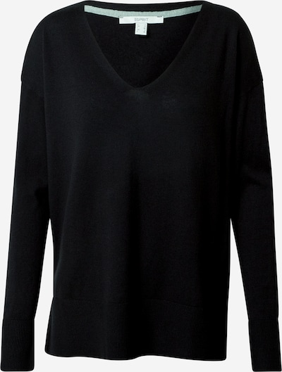 ESPRIT Sweater in Black: Frontal view