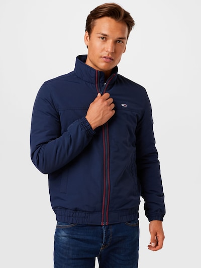 Tommy Jeans Jacke in navy / rot / weiß: Frontalansicht