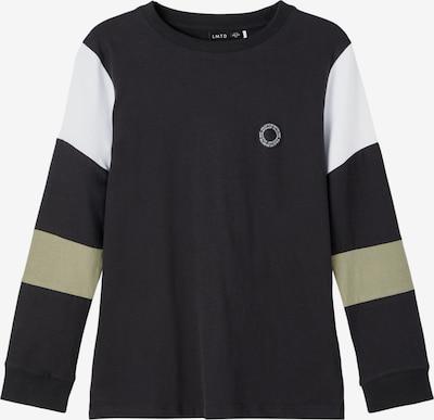 LMTD Shirt in beige / schwarz / weiß, Produktansicht
