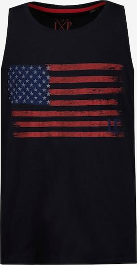 JP1880 Shirt in navy / dunkelrot, Produktansicht