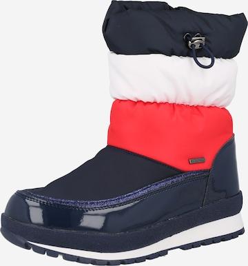 TOMMY HILFIGER Snowboots in Blau