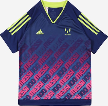 ADIDAS PERFORMANCE Performance Shirt 'Messi Iconic' in Blue