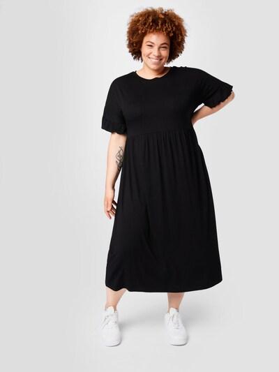 ABOUT YOU Curvy Šaty 'Elin' - čierna, Model/-ka