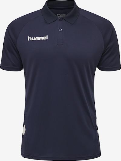 Hummel Shirt in dunkelblau / weiß, Produktansicht