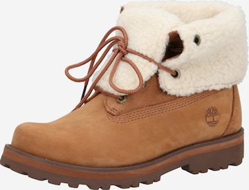 TIMBERLAND Snow Boots 'Courma Shearling' in Brown