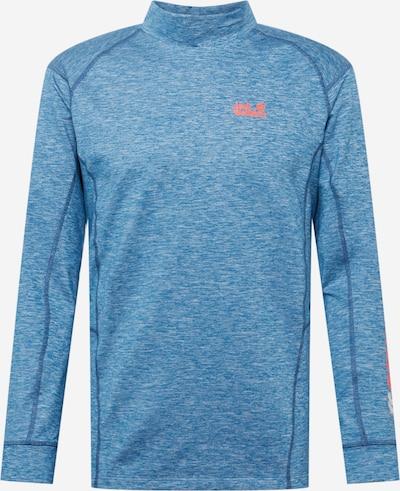 JACK WOLFSKIN Functioneel shirt in de kleur Blauw / Sinaasappel, Productweergave