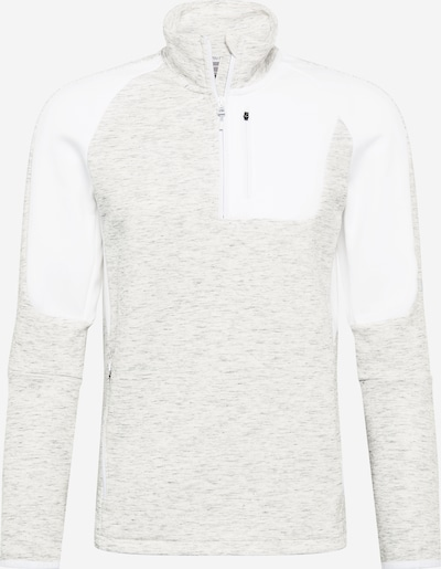PUMA Urheilullinen collegepaita 'EVOSTRIPE' värissä vaaleanharmaa / villanvalkoinen, Tuotenäkymä