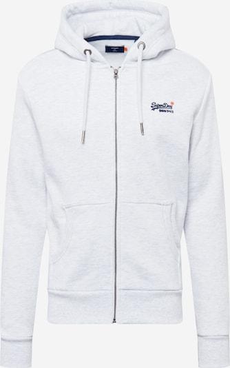 Superdry Mikina s kapucí - marine modrá / bílá, Produkt