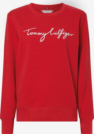 Felpa TOMMY HILFIGER di colore rosso / bianco, Visualizzazione prodotti