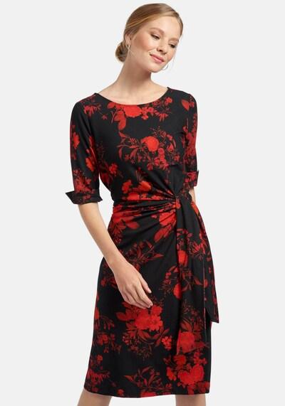 Uta Raasch Jerseykleid in rot, Modelansicht