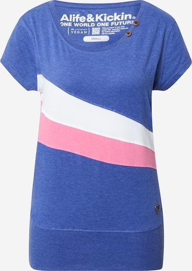 Alife and Kickin Camiseta en azul / rosa / blanco, Vista del producto