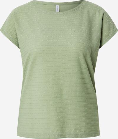 Hailys T-Shirt 'Leila' in grün / silber, Produktansicht