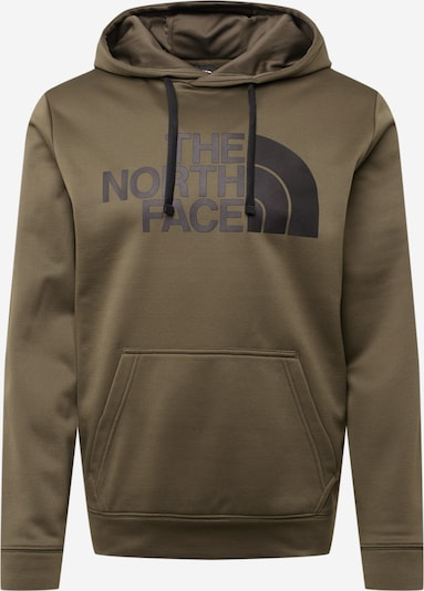 THE NORTH FACE Sportsweatshirt in de kleur Kaki / Zwart, Productweergave