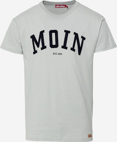 Derbe T-Shirt in rauchgrau / schwarz, Produktansicht