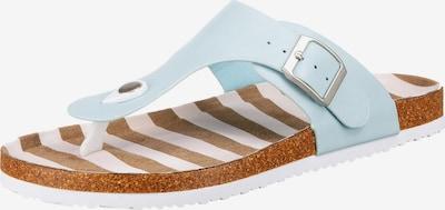 Inselhauptstadt T-Bar Sandals in Light blue, Item view