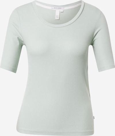 Q/S designed by T-shirt en vert pastel, Vue avec produit