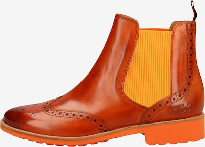 MELVIN & HAMILTON Chelsea boots in de kleur Sinaasappel, Productweergave