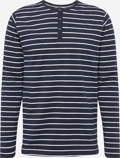 !Solid Shirt 'Ryon' in de kleur Donkerblauw / Wit, Productweergave