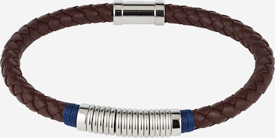 TOMMY HILFIGER Bracelet in brown / silver, Item view