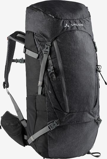 VAUDE Rucksack 'Asymmetric 52+8' in grau / schwarz, Produktansicht