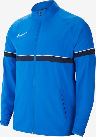 NIKE Jacke in marine / himmelblau / weiß, Produktansicht