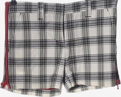 ICEBERG Hot Pants in S in hellgrau / schwarz / weiß, Produktansicht