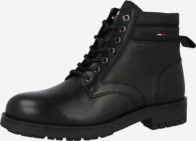Tommy Jeans Schnürboots in schwarz, Produktansicht