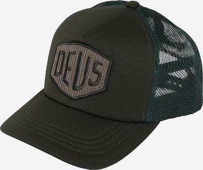 DEUS EX MACHINA Cap 'Hayward Shield' in tanne / dunkelgrün, Produktansicht