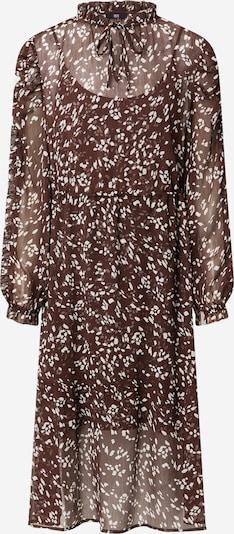 Rochie tip bluză Riani pe maro închis / alb, Vizualizare produs