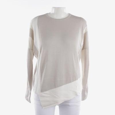 HELMUT LANG Pullover in S in beige / weiß, Produktansicht