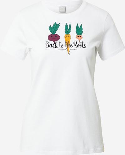 Iriedaily Camiseta 'Back to Roots' en mezcla de colores / blanco, Vista del producto
