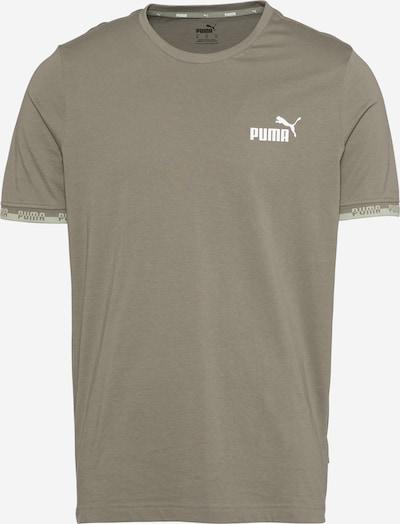 PUMA Funkčné tričko 'AMPLIFIED' - olivová / pastelovo zelená / biela, Produkt