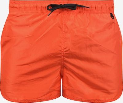 BLEND Badeshorts in orange / neonorange / dunkelorange, Produktansicht