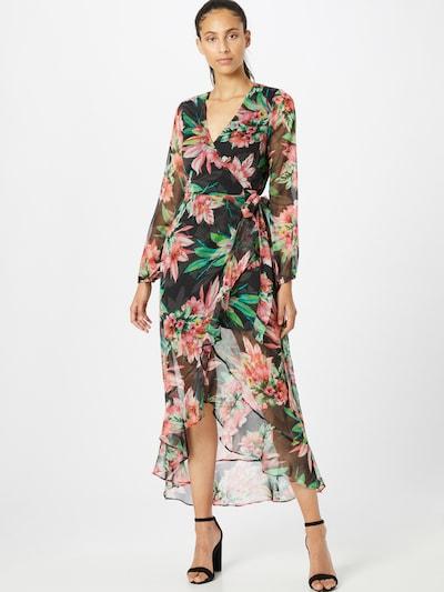 GUESS Kleid in mischfarben / schwarz, Modelansicht