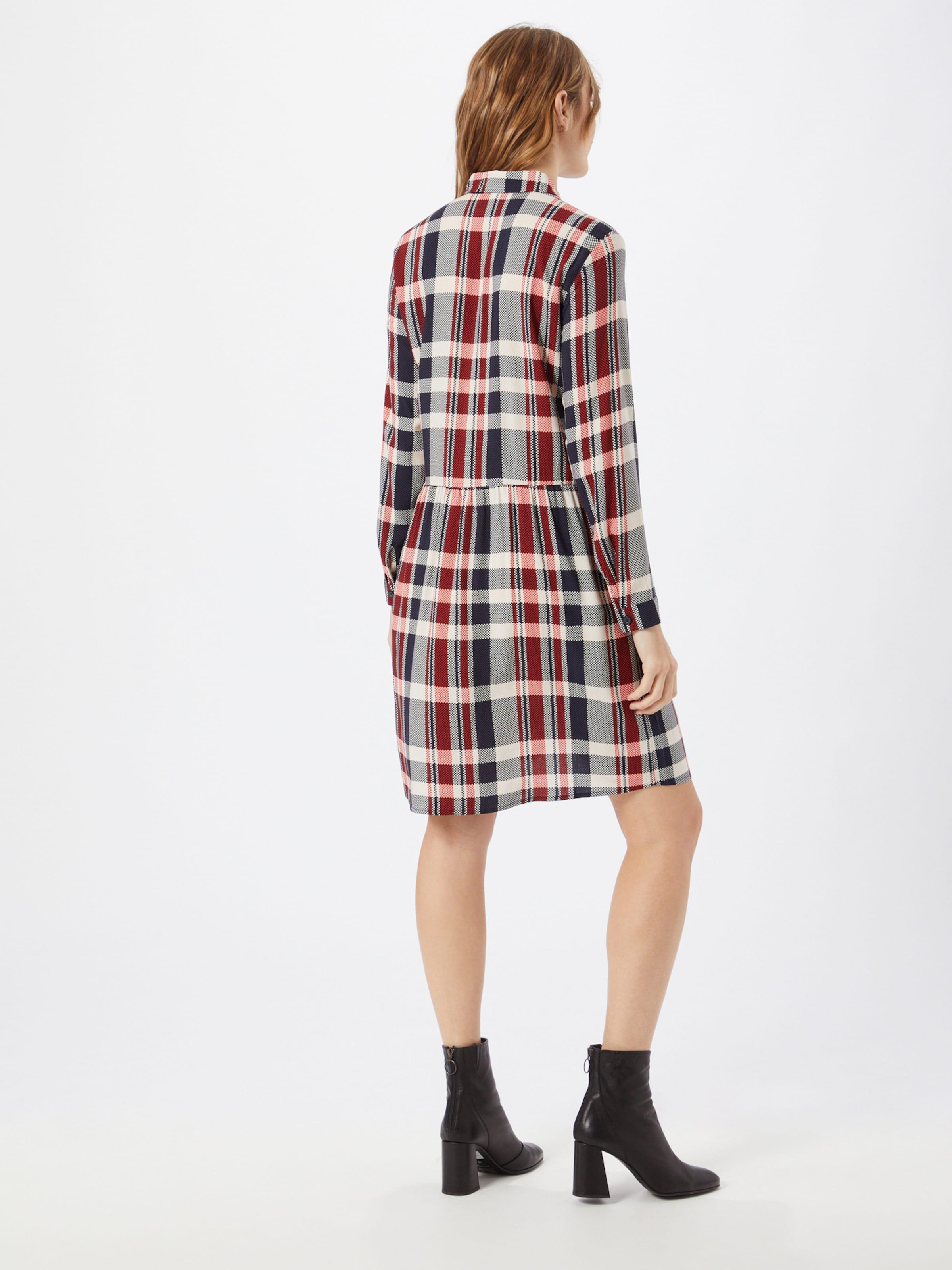ESPRIT Skjortklänning 'Fluent' i blandade färger