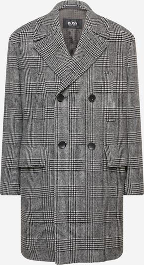 BOSS Manteau mi-saison en noir / blanc, Vue avec produit
