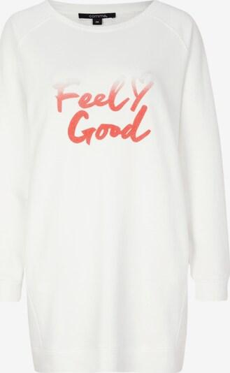 COMMA Sweatshirt in weiß, Produktansicht