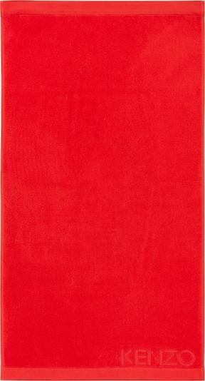 Kenzo Maison Badetuch 'ICONIC' in rot, Produktansicht
